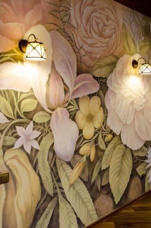Роспись стен в Москве.